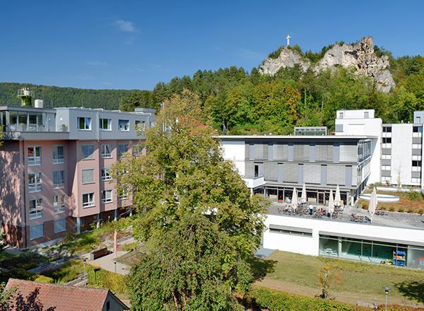 Außenansicht, Alb-Donau Klinikum am Standort Blaubeuren