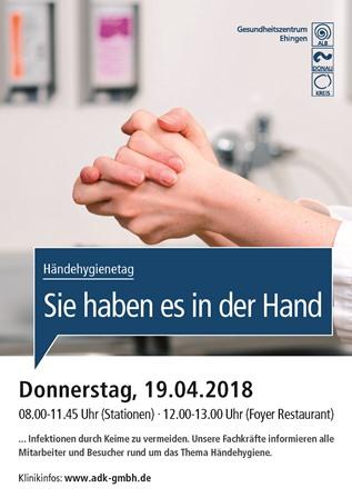 Aktionstag Händehygiene Ehingen