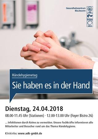 Aktionstag Händehygiene Blaubeuren