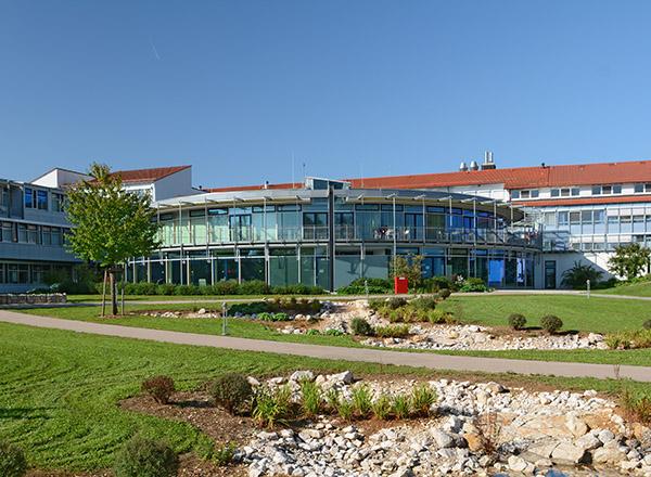 Außenansicht, Alb-Donau Klinikum am Standort Langenau