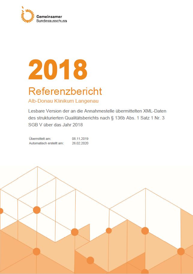 Qualitätsbericht 2017, Alb-Donau Klinikum Langenau