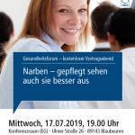 Gesundheitsforum Blaubeuren, Juli 2019