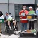Übergabe der neuen Bücherbox an das Seniorenzentrum Schelklingen