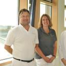 Teamärzte der Hauptabteilung Gynäkologie und Geburtshilfe Langenau: dr Klimczak, Dr. Hauswirth-Dippel und Hr. Ignatov