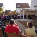 Seniorenzentrum Dietenheim feiert Richtfest für neues Gartenhaus