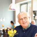 Älteres Paar im Hopfenhaus Restaurant