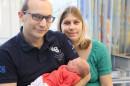 400stes Baby im Alb-Donau Klinikum, Standort Blaubeuren