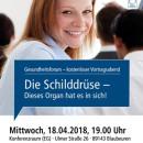 Gesundheitsforum Blaubeuren, April 2018, Dr. med. Antje Lang