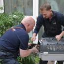 Enten gerettet im Gesundheitszentrum Ehingen