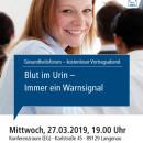Gesundheitsforum Langenau, März 2019