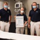 Ärzte der Chirurgie in Ehingen mit dem Zertifikat