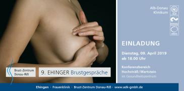 9. Ehinger Brustgespräche